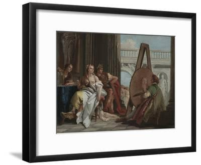 Alexander the Great and Campaspe in the Studio of Apelles, c.1740