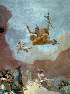 Mercury, Messenger of the Gods by Giovanni Battista Tiepolo