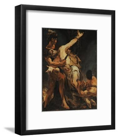 The Martyrdom of Saint Bartholomew. 1722