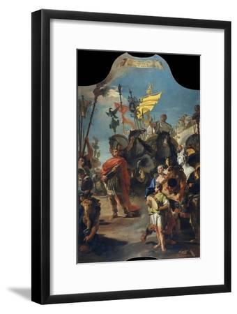 The Triumph of Marius, 1729