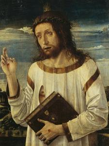 Christ Giving His Blessing by Giovanni Bellini