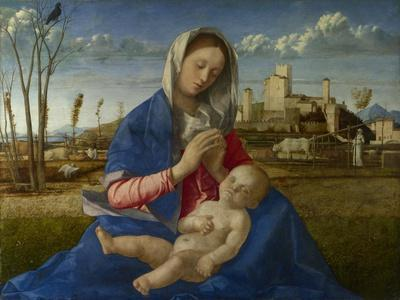 Madonna of the Meadow, C. 1500
