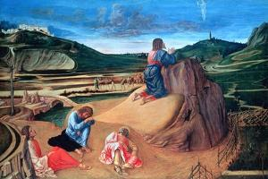 The Agony in the Garden, C1465 by Giovanni Bellini