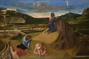 The Agony in the Garden, Ca 1465 by Giovanni Bellini