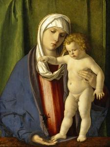 Virgin and Child, C.1488-90 by Giovanni Bellini