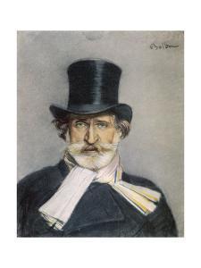Giuseppe Verdi Italian Composer by Giovanni Boldini