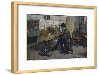 Italian Painter Giovanni Fattori (1825-Florence