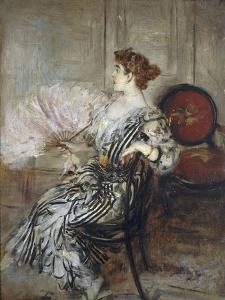 Madame Torri, danseuse à l'Opéra by Giovanni Boldini