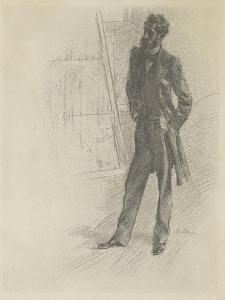 Paul Helleu en pied by Giovanni Boldini