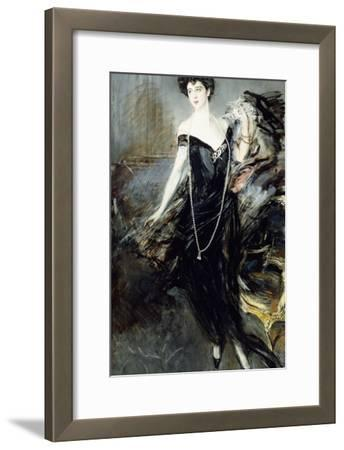 Portrait of Donna Franca Florio, 1924