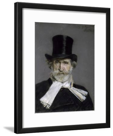 Portrait of Giuseppe Verdi, 1886