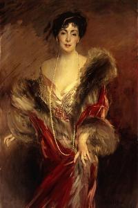 Portrait of Josefina A, De Errazuriz, 1912 by Giovanni Boldini