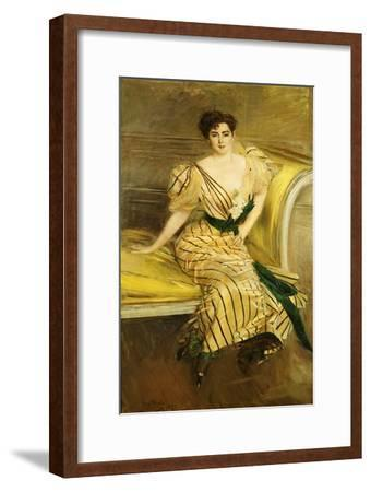 Portrait of Madame Josephina Alvear De Errazuriz, 1892
