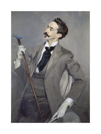 Portrait of the Writer Count Robert De Montesquiou (1855-1921), 1897