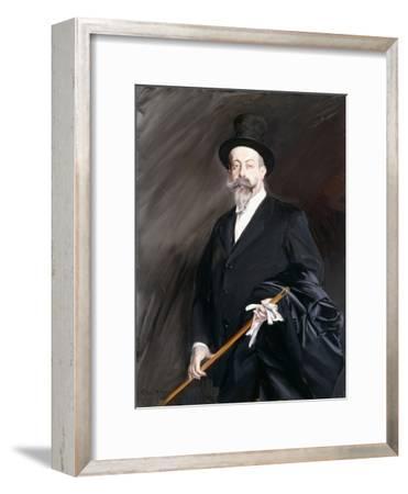 Portrait of Willy, the Writer, Henri Gauthier-Villars