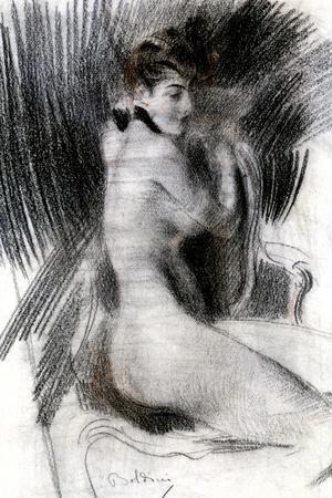 Woman Sitting, C1920