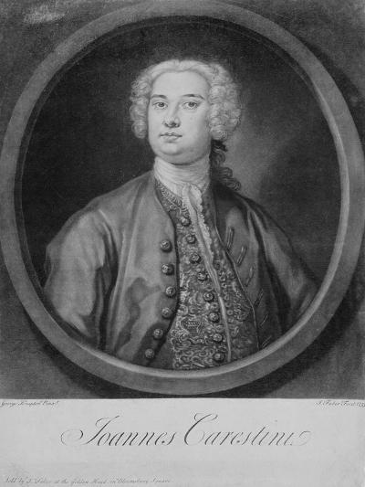 Giovanni Carestini (C.1704-C.1760), 1735-George Knapton-Giclee Print