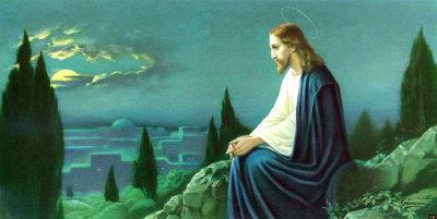Christus am Olberg