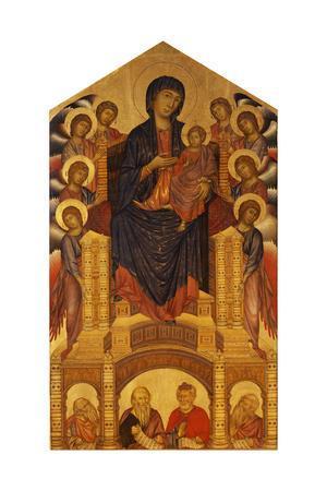 Maesta of Santa Trinita, C. 1280