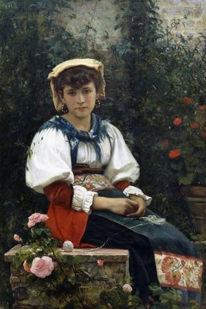 A Tuscan Beauty, 1874