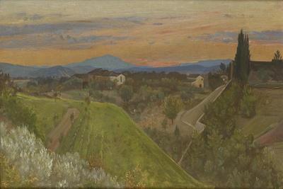 View of Monte Amiata, Tuscany, C.1880