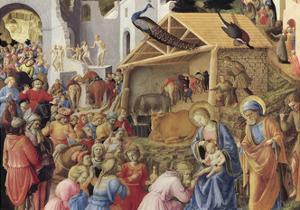 Adoration of the Magi or Tondo Cook, 1445-1455 by Giovanni Da Fiesole