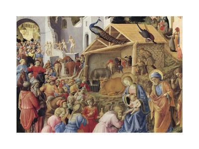 Adoration of the Magi or Tondo Cook, 1445-1455