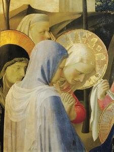 Deposition from Cross or Altarpiece of Holy Trinity, Circa 1432 by Giovanni Da Fiesole