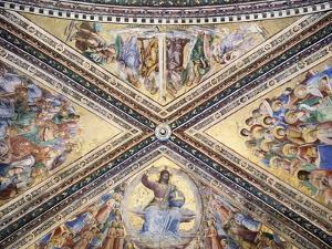 Frescoed Vault by Giovanni Da Fiesole