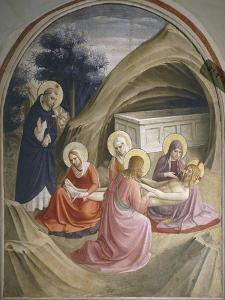 Lamentation of Christ, 1437-1445 by Giovanni Da Fiesole