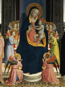 Madonna and Child Enthroned with Saints by Giovanni Da Fiesole