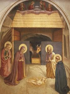 Nativity, 1437-1445 by Giovanni Da Fiesole