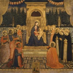 Pala Di San Marco, Circa 1440 by Giovanni Da Fiesole