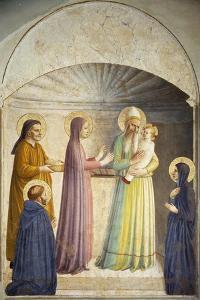 Presentation of Jesus at the Temple by Giovanni Da Fiesole
