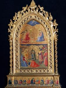 Shrine of the Virgin, Tabernacle with the Annunciation and the Adoration of the Magi, 1434 by Giovanni Da Fiesole
