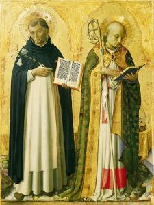 Side Panel Depicting St Dominic and St Nicholas, Perugia Altarpiece by Giovanni Da Fiesole