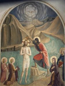 The Baptism of Christ by Giovanni Da Fiesole