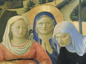 The Deposition from the Cross or the Altarpiece of the Holy Trinity, Circa 1432 by Giovanni Da Fiesole