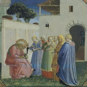 The Naming of St John the Baptist, Circa 1430 by Giovanni Da Fiesole