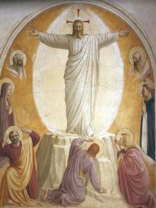 The Transfiguration by Giovanni Da Fiesole