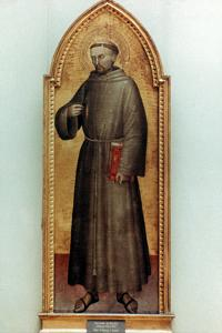 St. Francis Of Assisi by Giovanni Da Milano
