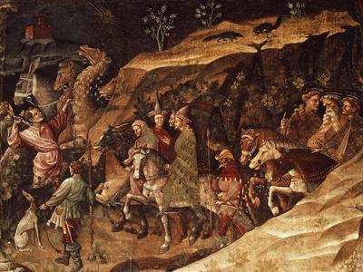 Wise Men on their Way to Bethlehem, Circa 1420