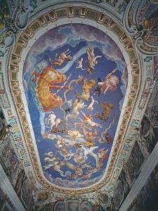 Astrological Ceiling, in the Sala Del Mappamondo by Giovanni De' Vecchi
