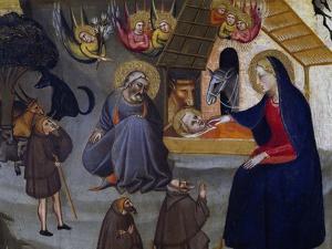 Nativity by Giovanni del Biondo