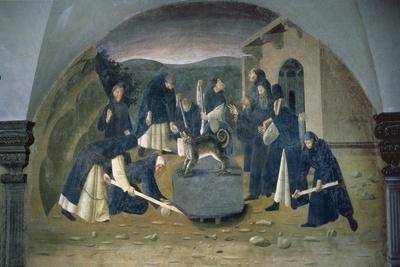 St. Benedict Lifting the Fallen Rock