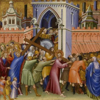 Christ on the Way to Calvary, from the Malavolti altarpiece, 1426