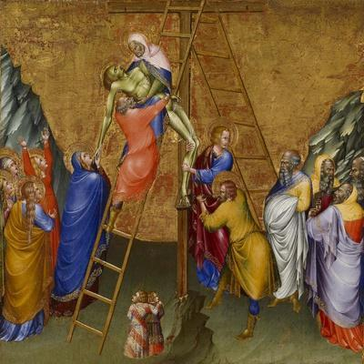 The Descent from the Cross, from the Malavolti altarpiece, 1426