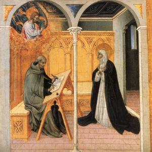 St. Catherine Of Siena by Giovanni di Paolo