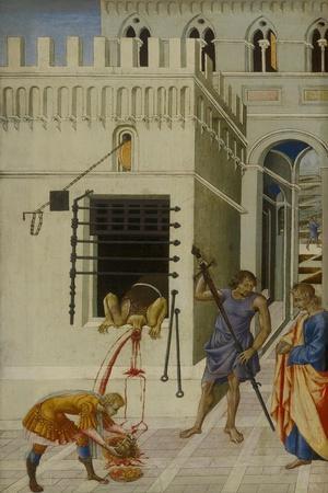 The Beheading of Saint John the Baptist, 1455-60