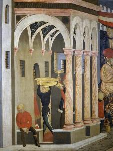 Cassone Adimari or Adimari Wedding Chest by Giovanni Di Ser Giovanni